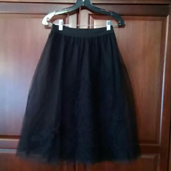 b9ba39944 maeve Skirts | Tulle Skirt Black Friday Sale | Poshmark